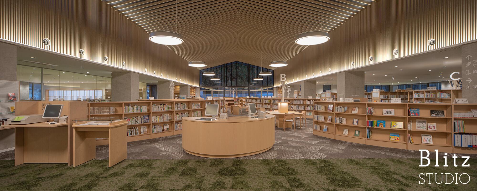 『豊後大野市立図書館』建築写真・竣工写真・インテリア写真18