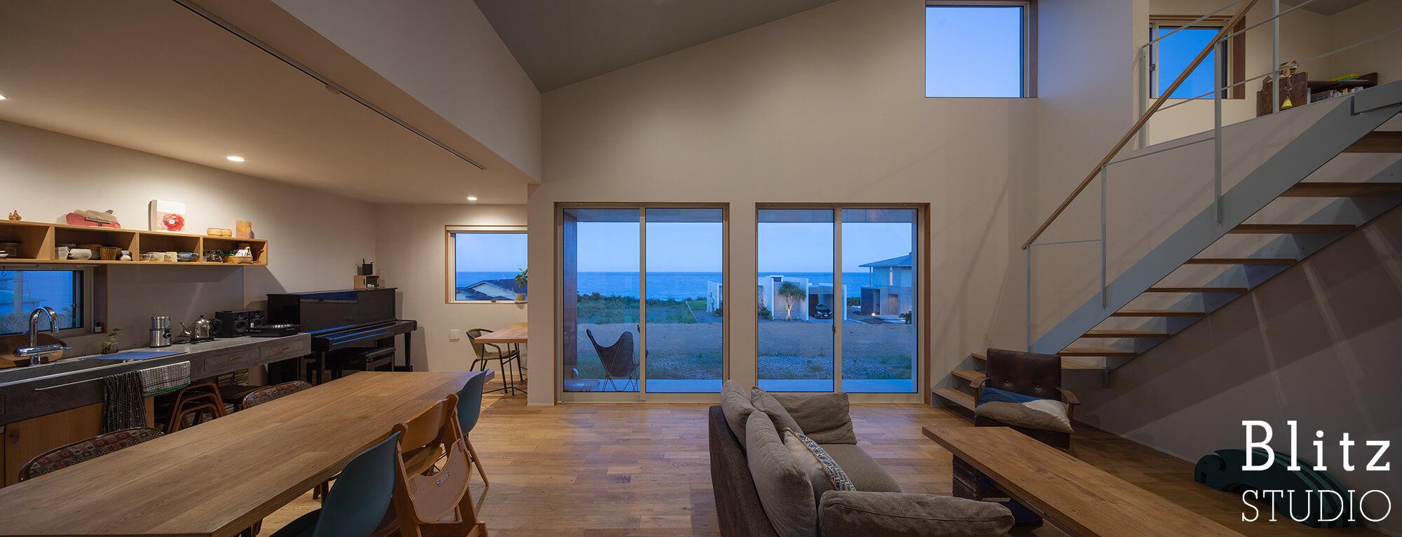 『水平線の見える家』建築写真・竣工写真・インテリア写真17