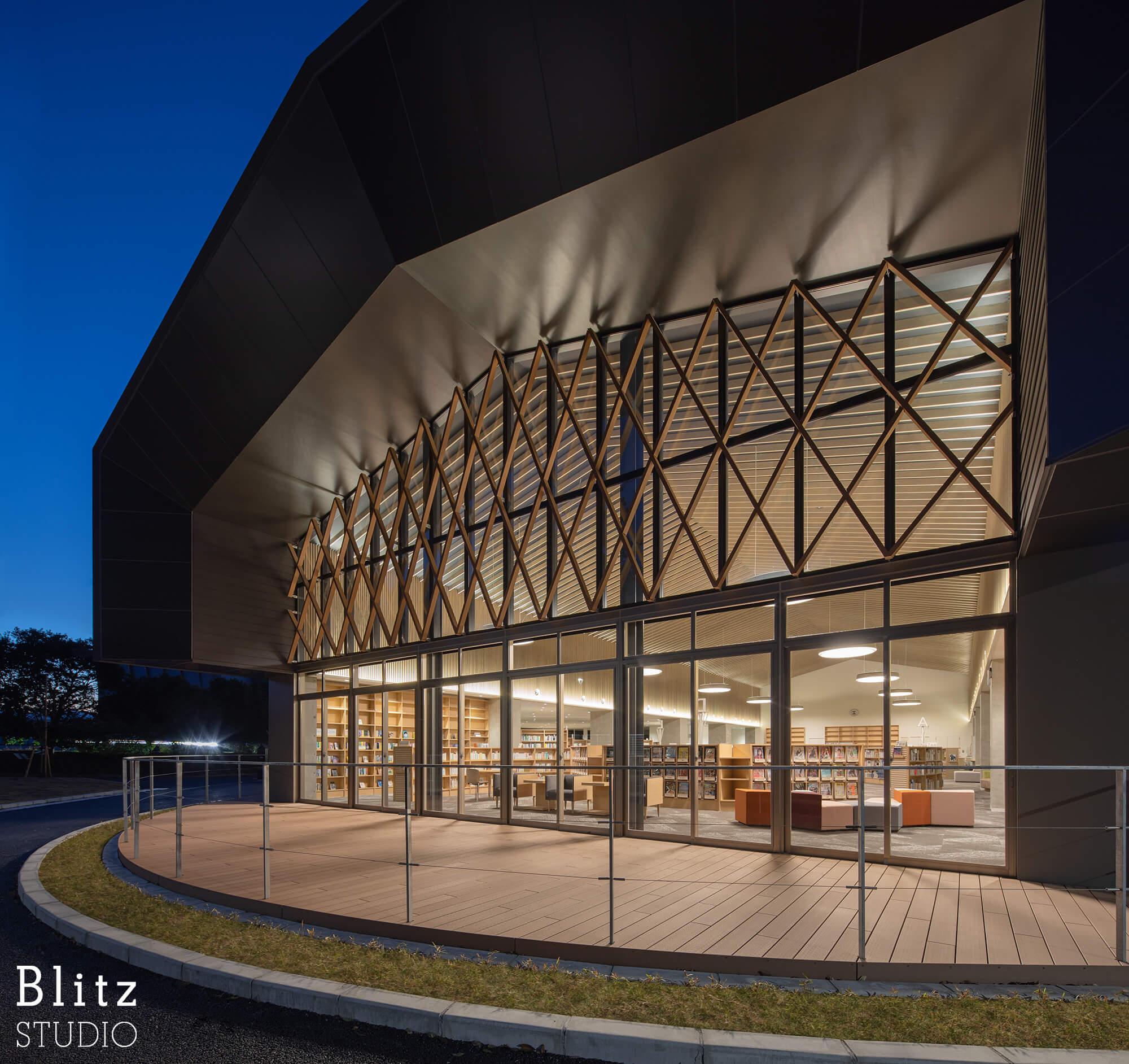 『豊後大野市立図書館』-大分県豊後大野市-建築写真・竣工写真・インテリア写真4