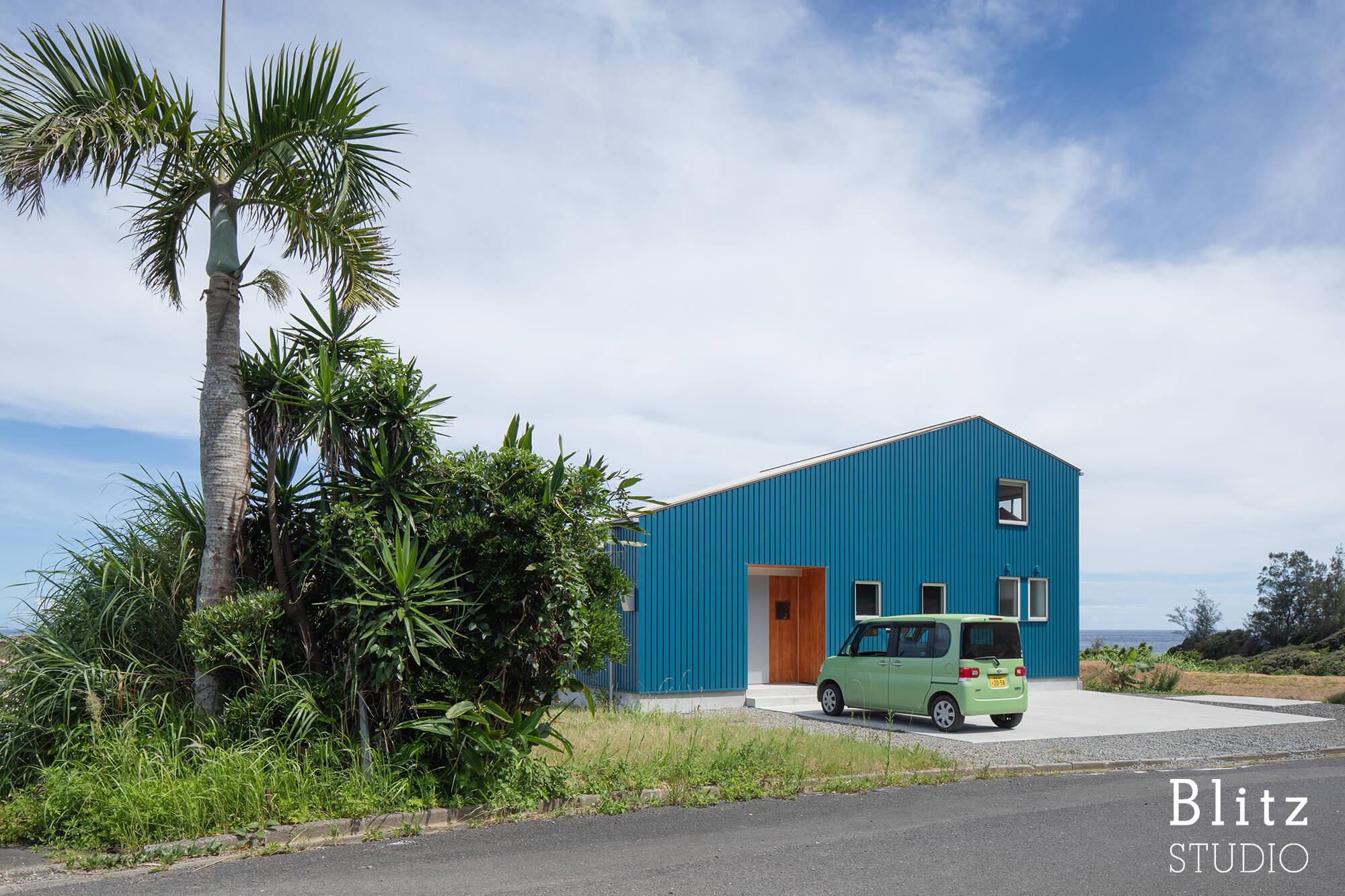 『水平線の見える家』-鹿児島県奄美大島-建築写真・竣工写真・インテリア写真3