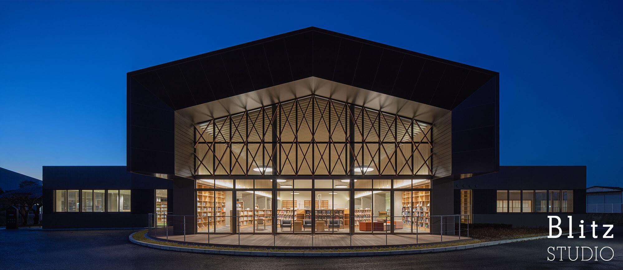 『豊後大野市立図書館』-大分県豊後大野市-建築写真・竣工写真・インテリア写真5