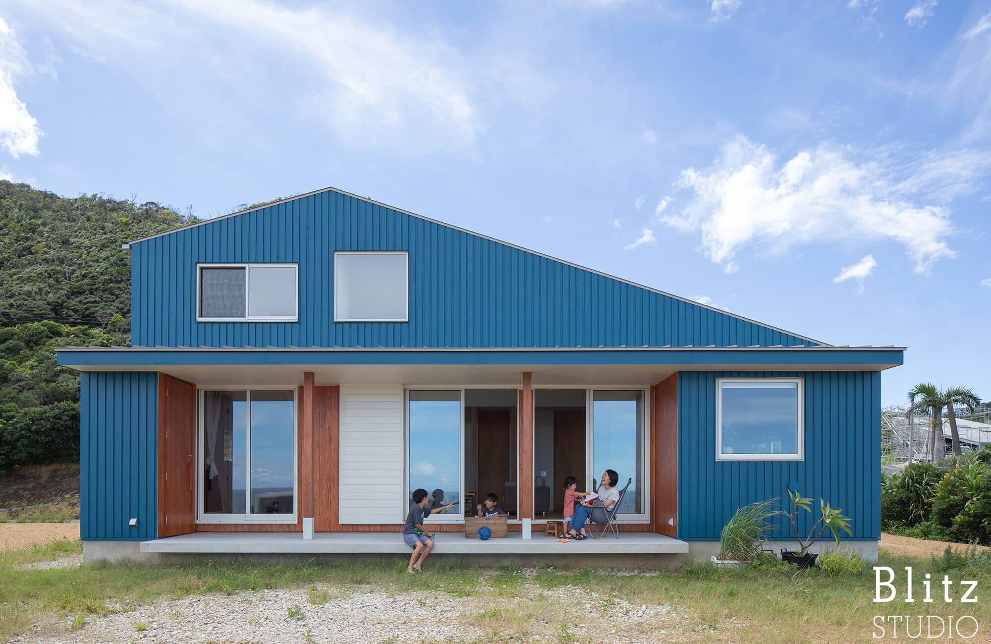 『水平線の見える家』-鹿児島県奄美大島-建築写真・竣工写真・インテリア写真5