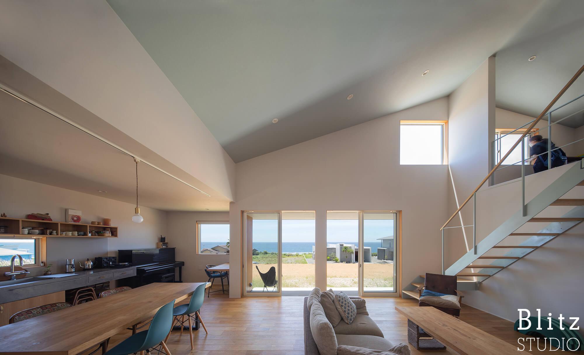 『水平線の見える家』建築写真・竣工写真・インテリア写真6