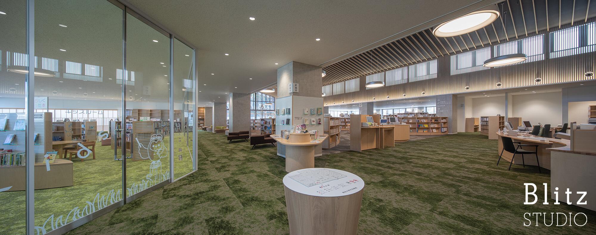 『豊後大野市立図書館』建築写真・竣工写真・インテリア写真7