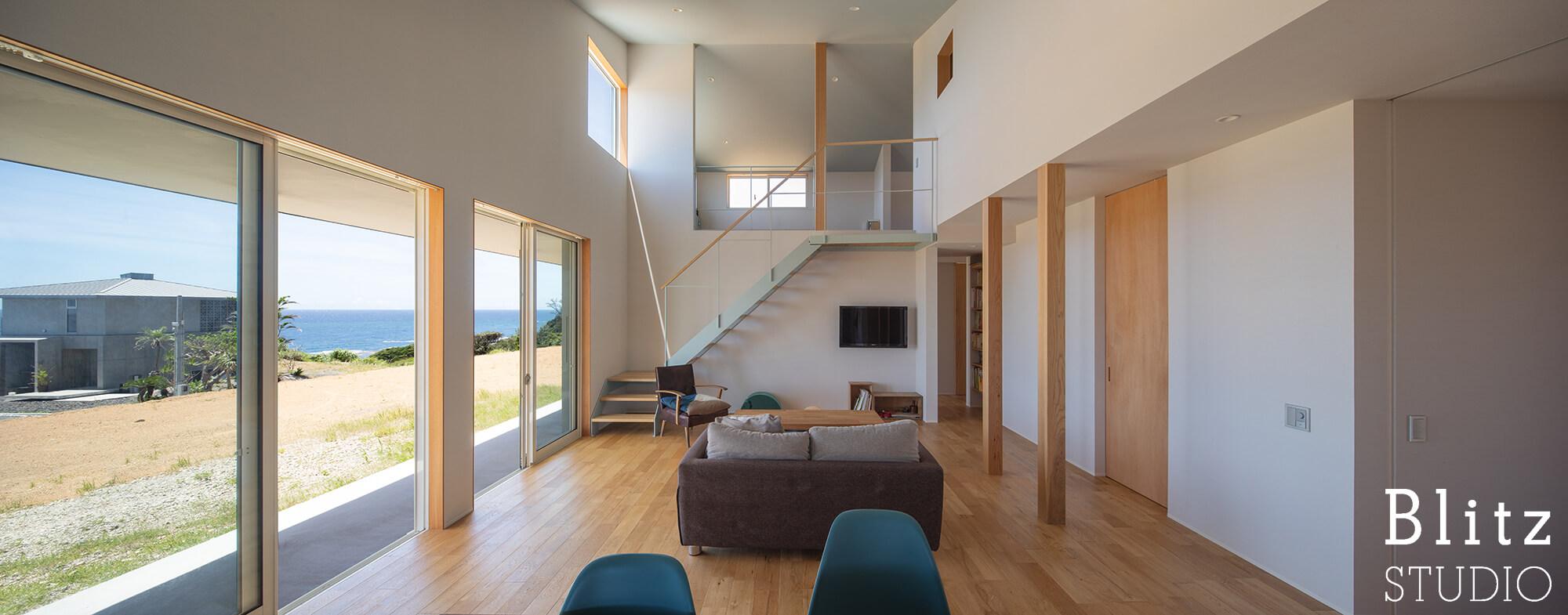 『水平線の見える家』建築写真・竣工写真・インテリア写真7