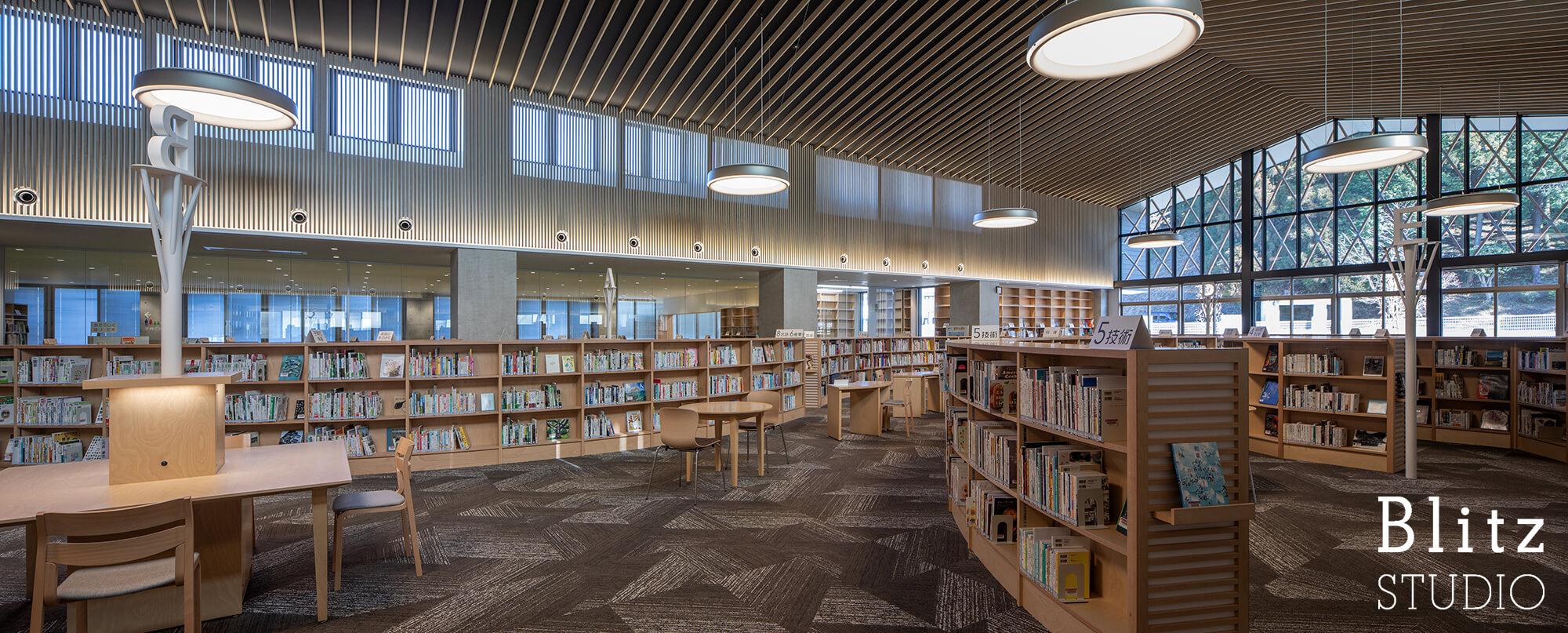 『豊後大野市立図書館』建築写真・竣工写真・インテリア写真10