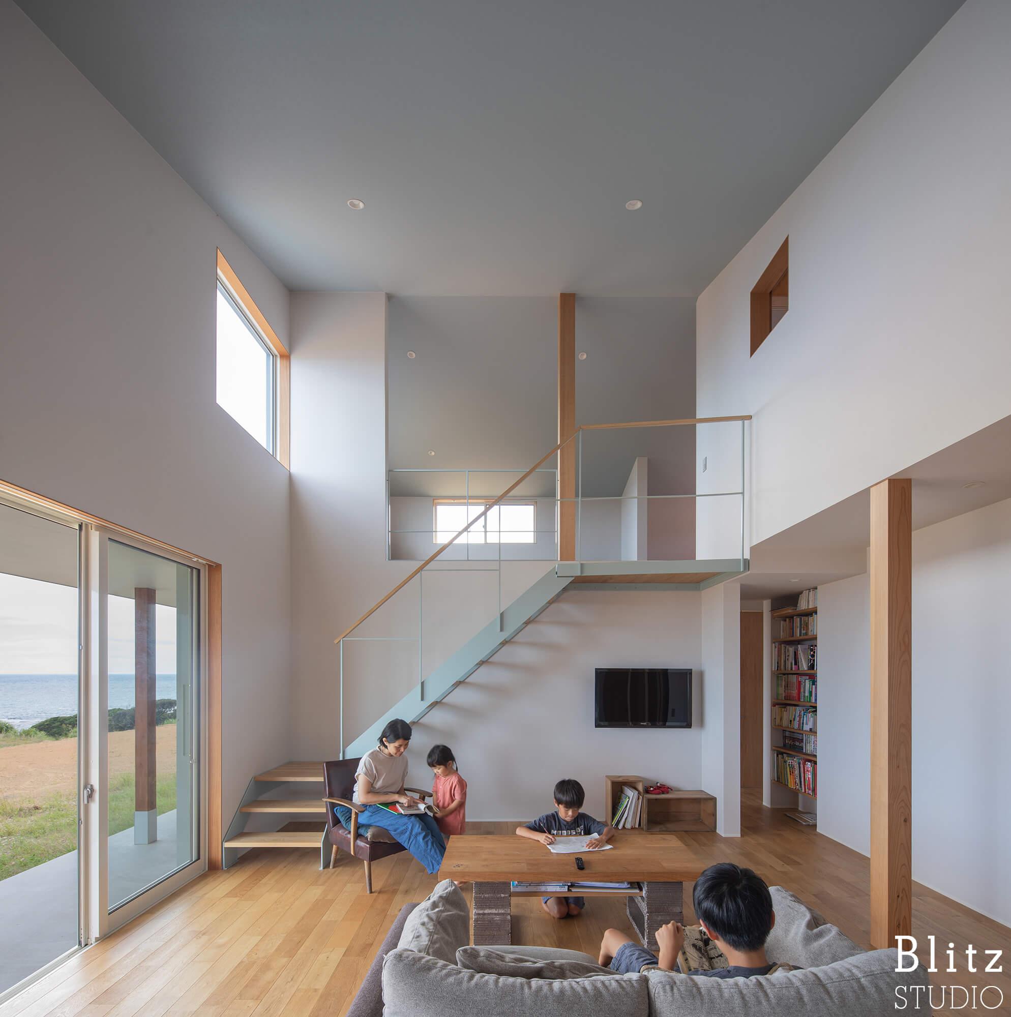 『水平線の見える家』建築写真・竣工写真・インテリア写真9
