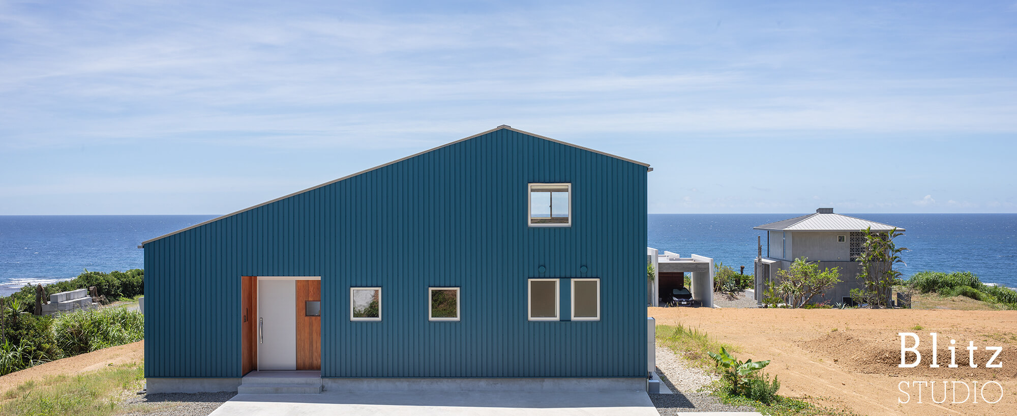 『水平線の見える家』-鹿児島県奄美大島-建築写真・竣工写真・インテリア写真2